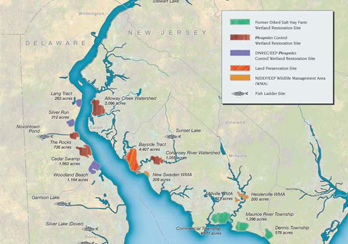 Estuary Program Overview Map