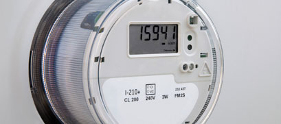 a digital, advanced meter is shown.