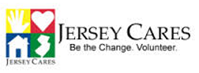 Jersey Cares. Be the Change. Volunteer.